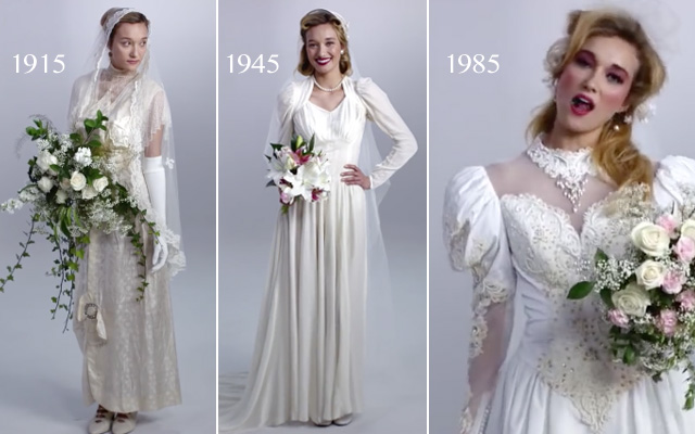 100-Years-of-Wedding-Dresses-in-3-Minutes
